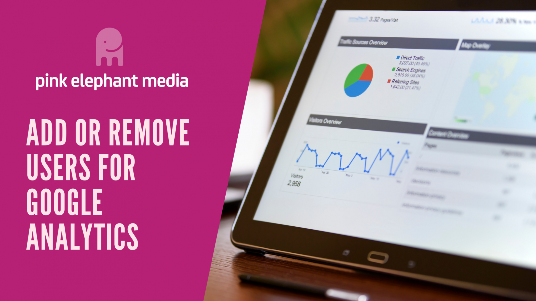 Add or remove users for Google Analytics